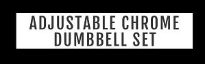 Chrome Dumbbell Banner Title