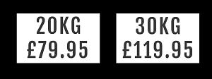 Chrome Dumbbell Banner Prices